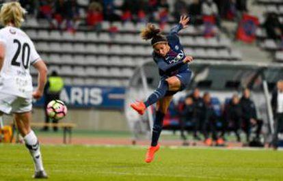 Cristiane, em atuação pelo PSG.