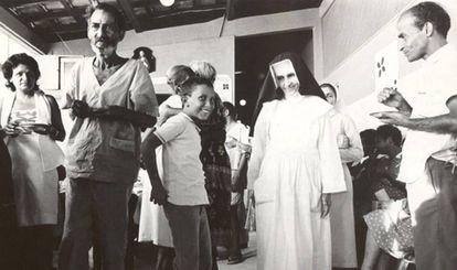 Irmã Dulce em Salvador.