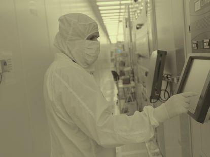 Centro de pesquisas de semicondutores da IBM em Albany (Nova York), em uma imagem sem data, distribuída pela empresa em 6 de maio.