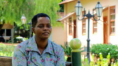 Madalena Gordiano, que trabalhou quatro décadas sem salário nem folgas, durante uma entrevista ao programa 'Fantástico' em dezembro, depois de ter sido resgatada.