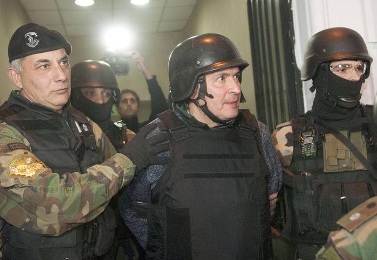 O ex-secretário de Obras Públicas José López, detido por corrupção
