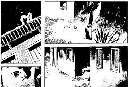 Reprodução de uma das páginas dos quadrinhos.