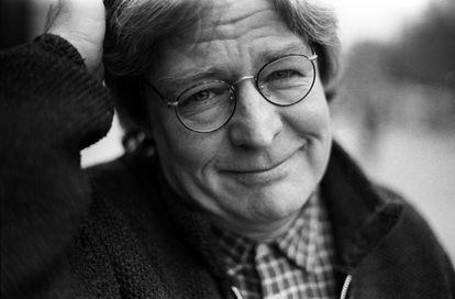 O cineasta inglês Alan Parker, em Londres, em 1994.