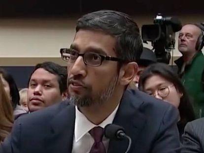Diretor executivo de Google, Sundar Pichai.