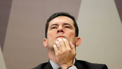 O ministro da Justiça, Sergio Moro.
