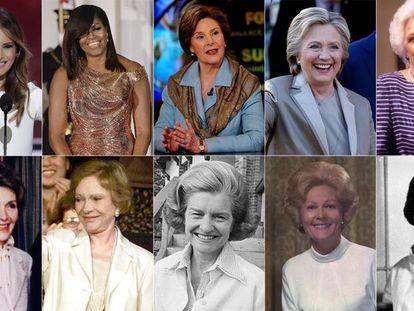 As primeiras-damas dos Estados Unidos e suas causas