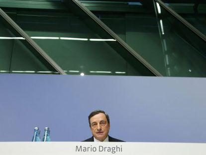 O presidente do Banco central Europeu, Mario Draghi.