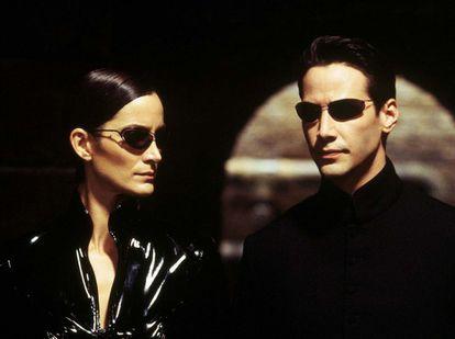 Cena do filme 'Matrix'.