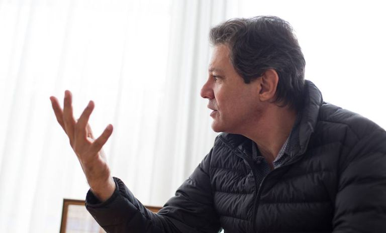 Fernando Haddad, coordenador do programa de Governo do PT.