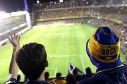 Jogo do Boca Juniors na Bombonera.