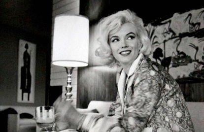 Marilyn Monroe em 1962 fotografada por George Barris.