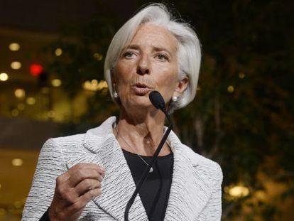 A diretora do Fundo Monetário Internacional (FMI), Christine Lagarde.