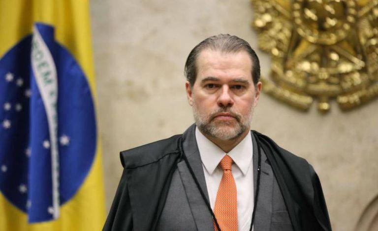 O presidente do STF, Dias Toffoli.