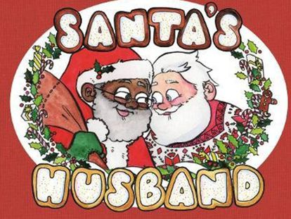 'O Marido do Papai Noel' escrito por Daniel Kibblesmith e ilustrado por AP Quach.