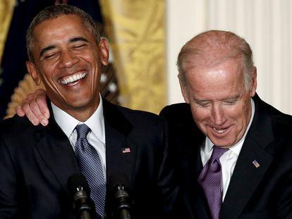 Obama e Biden.