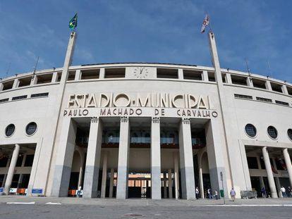 O Estádio do Pacaembu, em São Paulo.