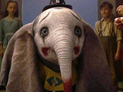 Assim o diretor Tim Burton imaginou o elefante mais famoso em seu novo filme, 'Dumbo'.