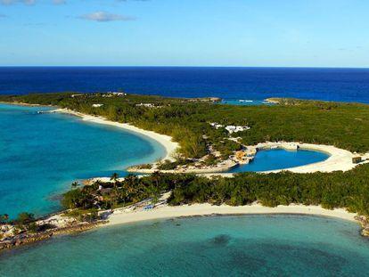 Uma ilha das Bahamas, país considerado paraíso fiscal.
