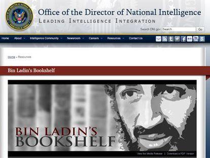 A biblioteca de Osama Bin Laden
