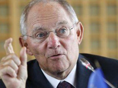 O ministro alemão de Finanzas, Wolfgang Schäuble.