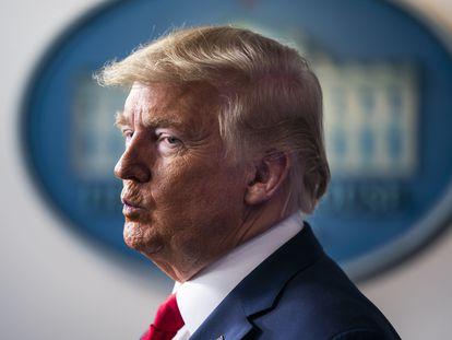 O presidente dos Estados Unidos, Donald Trump, em Washington.