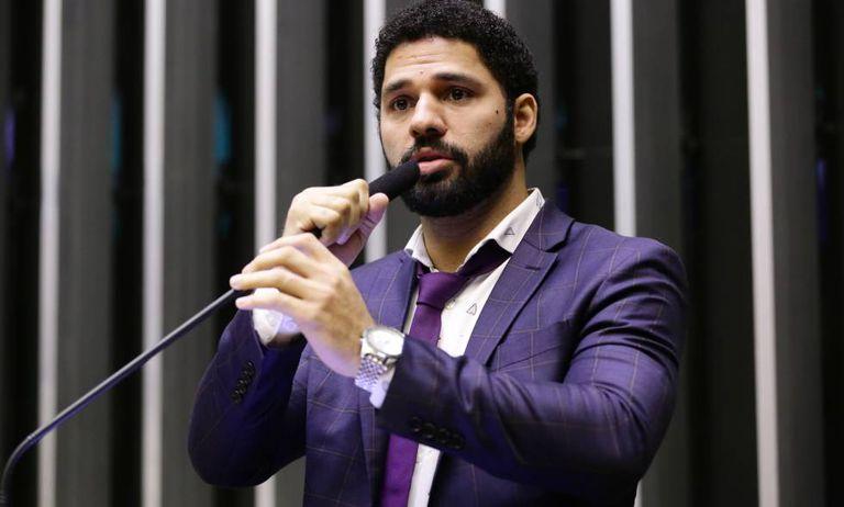 O deputado federal David Miranda.