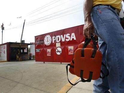 Instalações da estatal petroleira PDVSA na cidade de Maracaibo, na Venezuela, em 27 de dezembro de 2019.