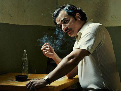Wagner Moura, intérprete de Pablo Escobar em 'Narcos'.
