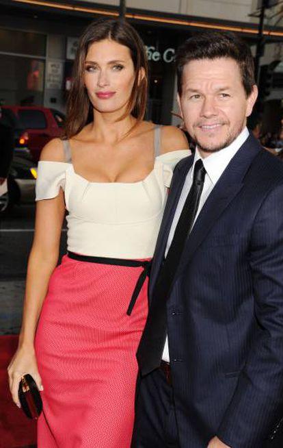 O ator com a mulher, a modelo Rhea Durham, na estreia mundial de 'Ted', em 2012