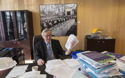 Juncker, em seu despacho em Bruxelas.