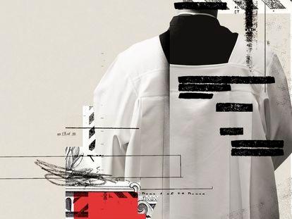 Arte sobre as revelações dos 'Pandora Papers'.