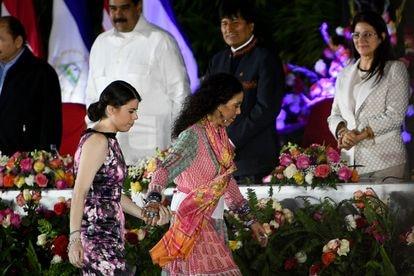 Camila Ortega Murillo, filha do presidente da Nicarágua, Daniel Ortega, e da vice-presidenta Rosario Murillo.