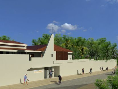 Imagem do projeto do memorial Jorge Amado.