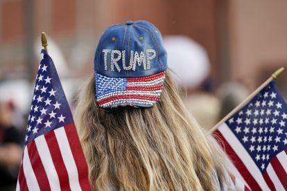 Apoiadora de Trump no Arizona.