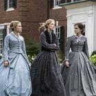 De izquierda a derecha Florence Pugh, Saoirse Ronan y Emma Watson en 'Mujercitas'.