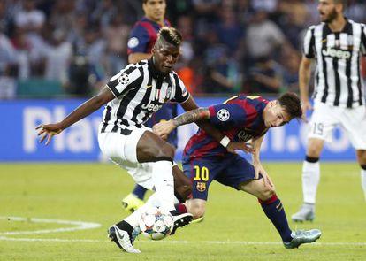 Lionel Messi e Paul Labile Pogba.