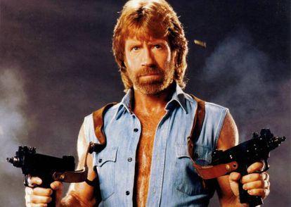 Chuck Norris, pronto para entrar no Twitter.