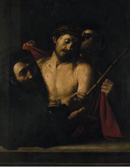 'Ecce homo' retirado do leilão da Casa Ansorena de Madri.