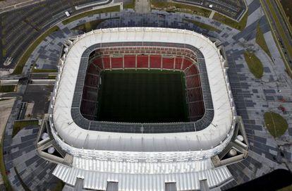 Obra da Arena Pernambuco foi subfaturada em R$ 42,8 milhões, segundo a polícia.