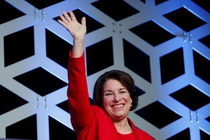A senadora por Minnesota Amy Klobuchar.