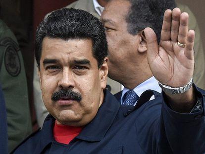 Nicolás Maduro, em uma imagem de arquivo.