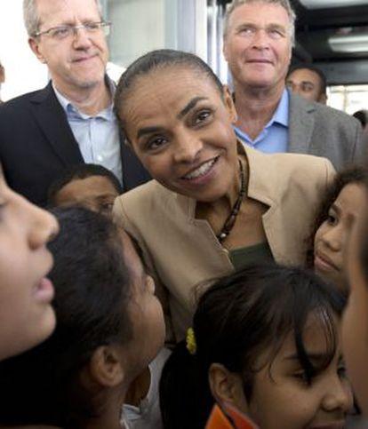 Marina Silva, na quinta-feira passada no Rio.
