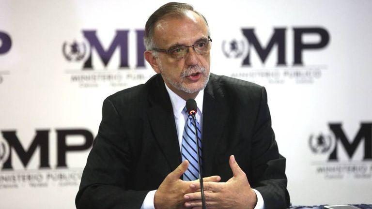 O chefe da Cicig, Iván Velásquez