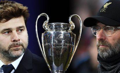 Pochettino e Klopp, os treinadores finalistas da Champions League.