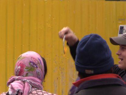 Torcedores do PSV humilham moradoras de rua em Madri