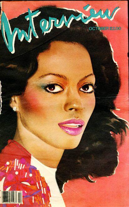 Diana Ross, capa da entrevista de outubro de 1981