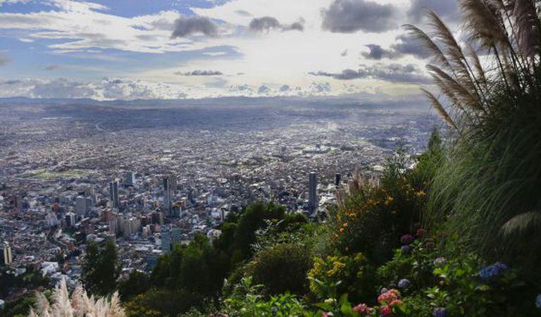 Vista de Bogotá.
