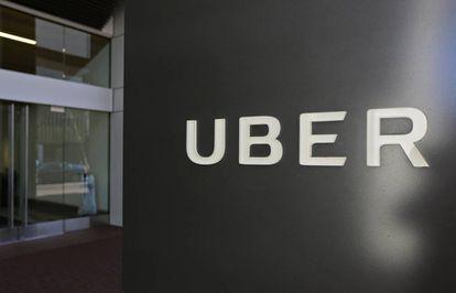Fachada da sede do Uber em San Francisco.