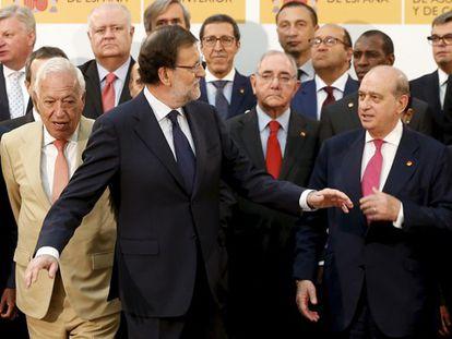 Rajoy durante o ato.