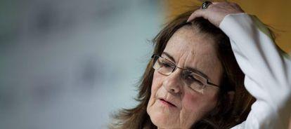 A ex-presidenta da Petrobras, Graça Foster.